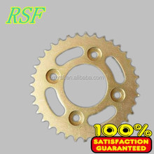 Motorcycle chain sprocket with any type holes with factory price