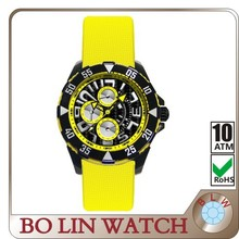 OEM brand watch high quality carbon firber watch press pattern dial steeled glass wrist vogue watch bo lin italy style