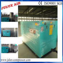 Made in china 220kw 300hp súper silencioso espiral compresor