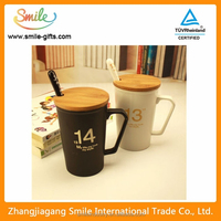 Classic 1314 Style Black And White Couple Cup Of Ceramic Cup