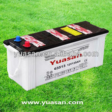 Quality Dry Charged Lead Acid JIS Standard Battery 12V135AH