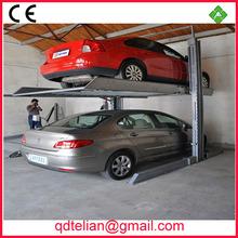 two floor carport/ double columns two deck parking garage/smart 2 post car stack