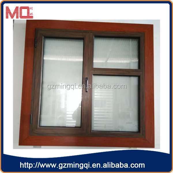 Heat insulated thermal break aluminum double glaze windows for Thermal windows prices