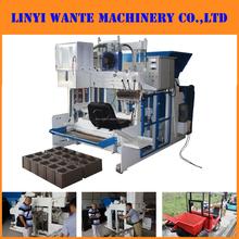 WT10-15 machine bloc béton mobile/ pondeuse de brique/machine mobile de brique