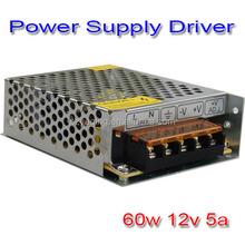 New Brand Singel 60w 12v 5a Dc To Dc cnc ups led lights transformer 12v switching power supply
