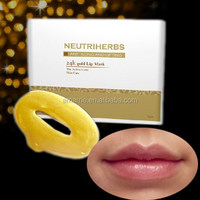 Gold intensive moisturizing crystal collagen korea cosmetics lip mask
