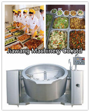 Stainless steel gas/steam/electric heating tilting jacketed cooking pot/jacket kettle cooker