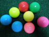 Bulk Colored Practic Golf Ball Personalized