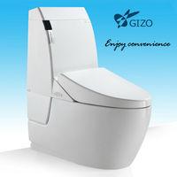 New Design Sanitary Ware Bathroom Siphonic One Piece Toilet