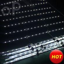 save cost! Lattice/curtain/Matrix/Net type led rigid srtip for light box