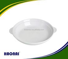 Beautiful shape hotel plate porcelain dishwasher safe