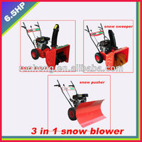 6.5HP snow Blower/Snow pusher/snow sweeper(3 in 1)