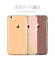 For iPhone 6/6s 4.7 inch Soft Back Cover Case Original TOTU Untra Thick TPU+Airbag Design Fashion Cover Case MT-4416
