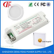 30W LED Emergency Driver , LED Energy-saving Emergency Kit with 3W 3hours emergency output
