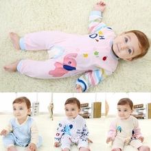 M20930A 2015 Autumn baby clothes soft baby cotton rompers