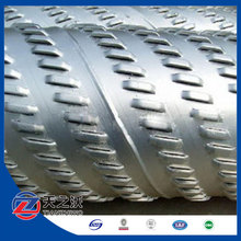Spiral Bridge slotted well screen pipe water well screen filter