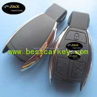 Topbest Latest model key fob case with 3 button for benz smart key case GL-class