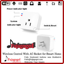 smart home 110v 240v wifi controlled power switch