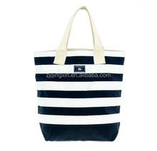 wholesales hot selling shopping used tote bag with zipper