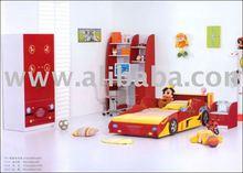 F1 Racing car bed suite