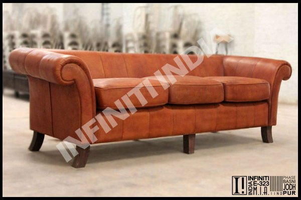 Vintage leather sofa buy vintage leather sofa modern leather sofa leather sofa product on Home furniture rental indiana