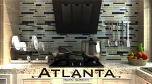 warm-toned color glass mosaic tile for home decorative(ATLANTA)