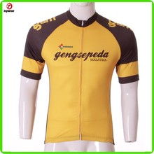 Compression lycra sleeves quick dry bike shirt