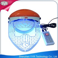 YYR magic red green and blue mask led light therapy skin tightening