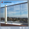 10mm tempered glass fence panels price for greenhouse