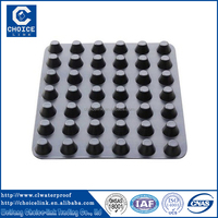 Manufacturer Tunnel Project Plastic Dimple Drainage Sheet/board