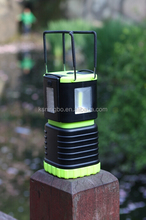 COB LED camping lantern with detachable torch