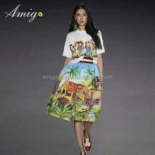 2015 2014 new design ladies dress one piece girl party dress
