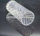 2015 nova venda quente da alta qualidade transparente prismático de vidro vaso