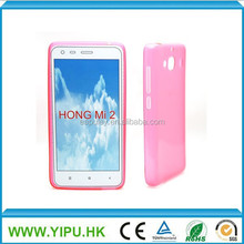 2015 new clear tpu case for HongMi 2, For mobile phone case