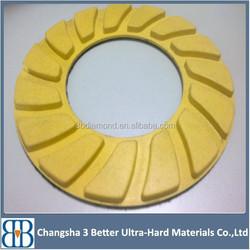 Resin Bonded Sunflower Polish Floor Concrete Wet Dry Diamond Pad