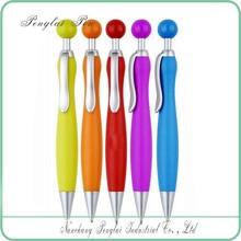 2015 Popular Plastic Jiangxi Promotional Click Ballpoint Pen