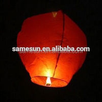 Customized biodegradable luminary sky lantern wholesale