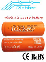 deep cycle battery for electrical product imr26650 4000mah battery 3.7v with CE,RoHS,certificates