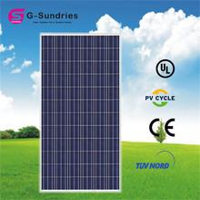 CE/IEC/TUV/UL high effiency solar panel 1kw