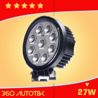 Factory directly offer motorcycle led headlight 27w led lamp