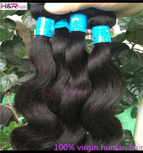 Alibaba Wholesale Double track human peruvian hair extensions