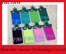 phone case pineapple 3d silicone case for iphone 5 5s ,for iphone 5s case cover 3d ,for iphone case 5s 6 4s