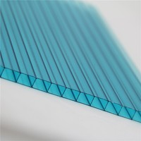 Hollow corrugated roofing greenhouse plastic material pc polycarbonate sheet polyicarbonate panels