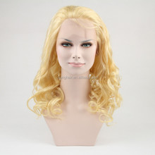 20 inch virgin brazilian hair blonde women brazilian hair full lace wig