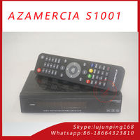 Original Azamerica S1001 Satellite Receiver Az america s1001 HD IKS SKS Nagra 3 Decoder for South America