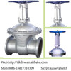 hand operated type 3 way gate valve for new type