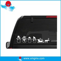 Custom Design Snowman Car decal sticker
