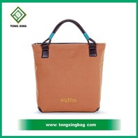 guangzhou 100% manufacturer cotton canvas shopping tote bag