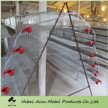 Large-scale automatic battery quail cage