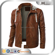 2015 high quality leather man coat & jacket , men leather jacket & overcoat, online clothing store, OEM service
